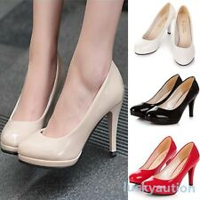 Women Classic Stilettos High Heel Office Dress Work Platform Womens Pump Shoes