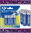 AA RECHARGEABLE Ni-MH 2800 MAH BATTERY BATTERIES X 4