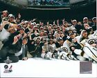 2011 STANLEY CUP CHAMPIONS BOSTON BRUINS 8x10 TEAM CELEBRATION PHOTO