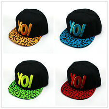 Unisex Fashion YO! Snapback Hip-Hop Hats Rock Cap adjustable Baseball