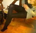 Winter Fleece Lined Tights Pantyhose Black Warm Soft Comfortable Opaque W Foot