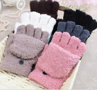 Women's Lady Winter Thermal Insulated Fleece Gloves