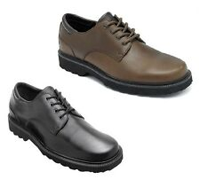 Rockport 'Northfield' Mens Black or Brown Waterproof Leather Oxfords Shoes