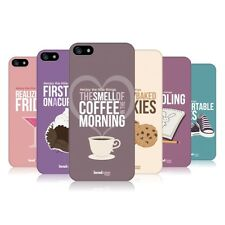 Head CASE DESIGNS Enjoy the Little Things Coque arrière pour Apple iPhone 5 5S