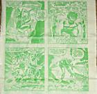 AMAZING SPIDERMAN INCREDIBLE HULK RARE PROMO FACIAL TISSUE PAPER COMIC PROMO 1