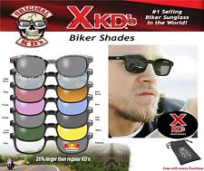 X-KD's Black Frame Clear Lens Available Sunglasses XKD ASOTV Sons of Anarchy