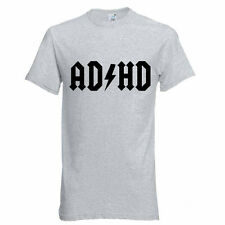 AD-HD New KidsT-shirt Funny Parody ADHD Friends Boys, Girls Best Gift