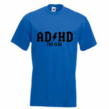 AD-HD Fan Club New KidsT-shirt Funny Parody ADHD Friends Boys, Girls Best Gift