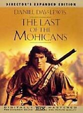 The Last of the Mohicans (DVD, 1999, Director's Expanded Edition) New