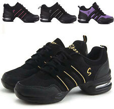 Fashion Comfy Modern Jazz Hip Hop Dance Shoes Breathable Sneakers 7 Colors