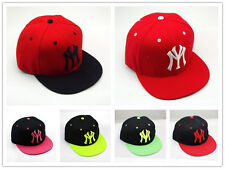 Unisex Fashion YM Snapback Hip-Hop Hats Rock Cap adjustable Baseball
