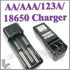 AA / AAA / LR- 123A /18650 Battery rechargeable Charger