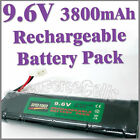 1 x 9.6V 3800mAh Ni-MH Rechargeable Battery Pack RC