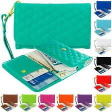 Luxury Wallet Flip Leather Design Case Cover Pouch Holder for Phones