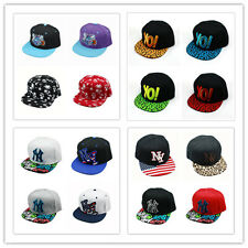 New Mens Boy NY Snapback Hip-Hop Hats adjustable Baseball Cap