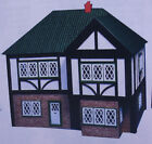 PLAN AND FITTINGS KIT TO BUILD TUDOR STYLE DOLLS HOUSE 1:16 SCALE 1613