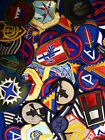 Lot of 50 Assorted U.S. Military Army & Air Force Shoulder Unit Insignia Patches