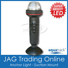 AQUATRACK LED PORTABLE STERN ANCHOR NAVIGATION/NAV WHITE LIGHT - SUCTION MOUNT