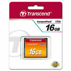 Transcend 16 GB CompactFlash CF 16GB HighSpeed 133x NEU TS16GCF133 Schutzbox