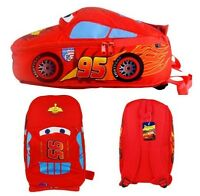 Children Disney Pixar Cars McQueen Kids Boy Girl's Backpack School Bag Best Gift