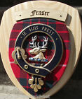 Scottish Gifts Fraser Family Clan Crest Wall Plaque
