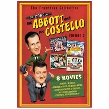 THE BEST OF ABBOTT and COSTELLO VOLUME 2  NEW DVD BOXSET 8 movies Bud & Lou