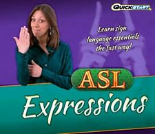 ASL EXPRESSIONS Learn Sign Language Essentials PC Windows 8 7 SEALED New