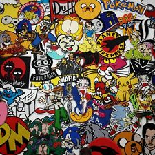 """""""CARTOON GREATS"""" PATCH SERIES Awesome Iron-On Patches, Low Price, UK Seller..."""