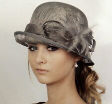 New Woman Church Derby Wedding Sinamay Ascot Dress Hat Various Colors DR-06
