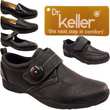NEW WOMENS LADIES VELCRO SRONG HARD SOLE COMFORT WIDE FIT WORK NURSE SHOES SIZE