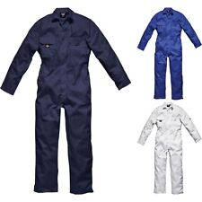 Mens Dickies Red Hawk Zipped Coverall Overall Boiler Suit for Work Mechanic