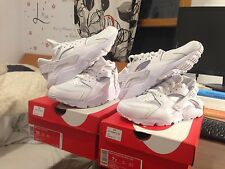Nike Air Huarache Triple White 318429 111 Men and Youth Sizes