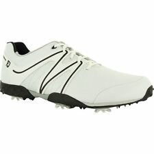 Mens Footjoy M Project Closeout Golf Shoes 55175 White/Black/Silver