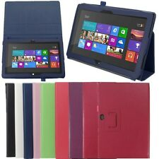 Flip PU Pelle Stand Custodia Cover Per 10.6'' Inch Microsoft Surface RT Tablet