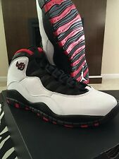 Air Jordan Retro 10 X Double Nickel 45 Bulls White Red black 8 8.5 9 9.5 14 10.5