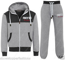 NEW Boys Design Jogging suit Tracksuit Hooded Bottoms Jacket Top Age 7 - 13 Year