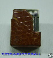 USED DUPONT SILVER PLATED MAN'S LIGHTER