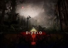 Diablo III jeu video game play station xbox action POSTER AF