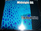 Midnight Oil / Peter Garrett The Real Thing CD Single – Like New