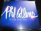 Phil Collins (Genesis) It's In Your Eyes Rare Promo CD Single