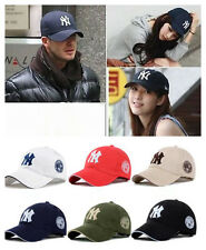 New Mens Womens Baseball NY Cap Adjustable Snapback Sport Hip-Hop Hat Unisex