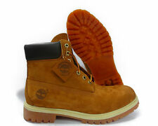 Timberland 6 Inch Premium WaterProof Rust Brown Mens Boots NEW TB072066 LEATHER