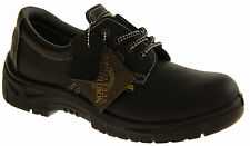 Mens Leather NORTHWEST TERRITORY Safety Toe Cap Shock Absorber Work Boots Shoes