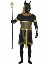 Adult Egyptian God Anubis The Jackal Mens Halloween Party Fancy Dress Costume
