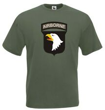 Maglia Airborne J582 T-shirt 101st Airborne Division Screaming Eagle US Army 2WW