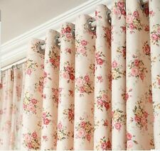 Euopean Style Floral Bedroom Living Curtains Blockout Curtains Eyelet blackout