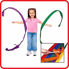 GIRLS KIDS 4M RHYTHMIC GYMNASTICS GYM DANCE TWIRLING STICK RIBBON STREAMER STUNT