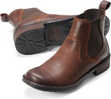 Born Mens Pull On Boot Hemlock Chestnut M9365 All Sizes