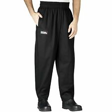 Chefwear 3000-30 BaggyChef Pant, Black sizes XS-2XL NEW!
