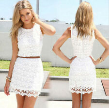 Fashion Sexy Women Summer Casual Sleeveless Party Evening Cocktail Dress S-XL